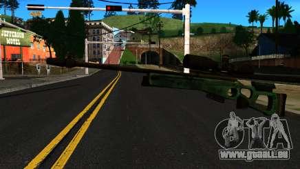 SV-98 ohne Zweibein und Umfang für GTA San Andreas