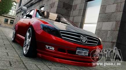 Schafter Gen. 2 Grey Series für GTA 4