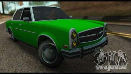 Benefactor Glendale (GTA V) für GTA San Andreas