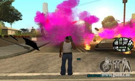 New Pink Effects pour GTA San Andreas quatrième écran