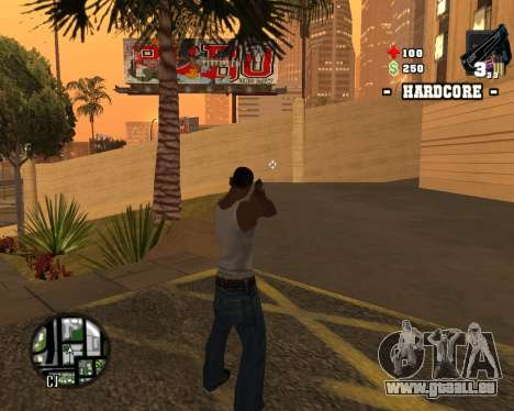 C-HUD Hardcore für GTA San Andreas her Screenshot
