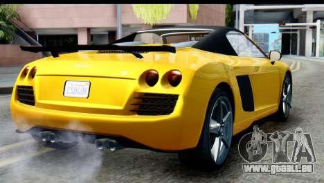 GTA 5 Obey 9F Cabrio IVF pour GTA San Andreas laissé vue