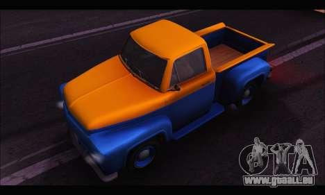 Vapid Slamvan (GTA V) für GTA San Andreas rechten Ansicht
