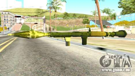 Rocket Launcher from GTA 5 für GTA San Andreas