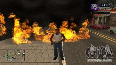 C-HUD Politra pour GTA San Andreas deuxième écran