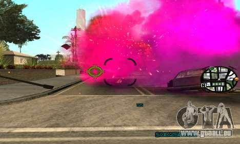 New Pink Effects pour GTA San Andreas troisième écran