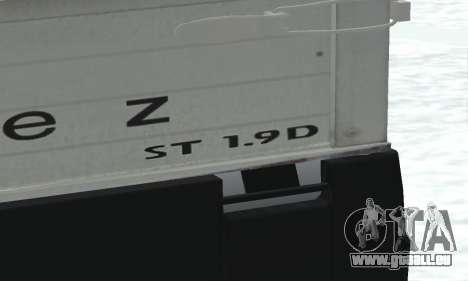 Daewoo FSO Polonez Truck Plus ST 1.9 D 2000 für GTA San Andreas Innenansicht