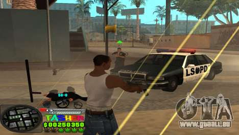 C-HUD Tasher pour GTA San Andreas cinquième écran
