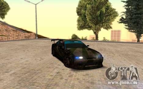 Nissan Silvia S15 Hunter für GTA San Andreas