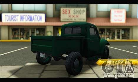 Rat Loader (GTA V) pour GTA San Andreas sur la vue arrière gauche