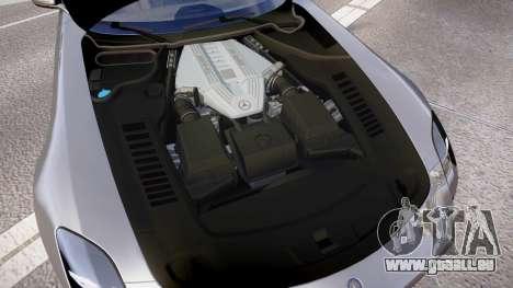 Mersedes-Benz SLS AMG 2010 für GTA 4 Innenansicht