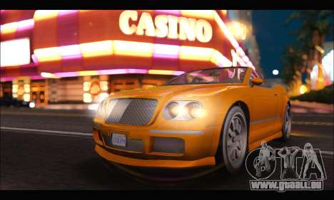 Enus Cognoscenti Cabrio (GTA V) (IVF) für GTA San Andreas