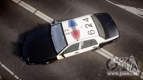 Ford Crown Victoria 2011 LASD [ELS] für GTA 4 rechte Ansicht