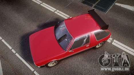 Declasse Rhapsody Camber für GTA 4 rechte Ansicht