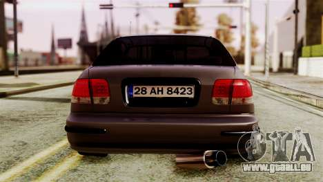 Honda Civic 1.6 für GTA San Andreas rechten Ansicht