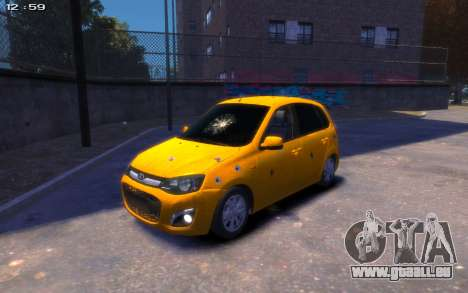 Lada Kalina 2 pour GTA 4