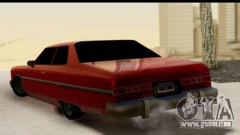 Chevy Caprice 1975 pour GTA San Andreas laissé vue