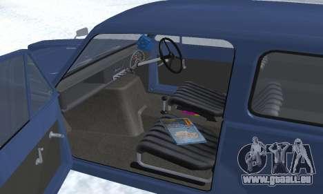 Reliant Supervan III pour GTA San Andreas roue