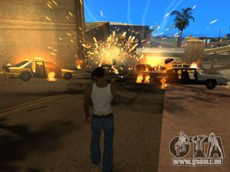 Realistic Effects v3.4 by Eazy für GTA San Andreas fünften Screenshot