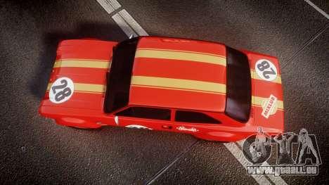 Ford Escort RS1600 PJ28 pour GTA 4 est un droit
