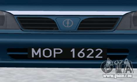 Daewoo-FSO Polonez Kombi 1.6 GSI Police 2000 für GTA San Andreas Seitenansicht