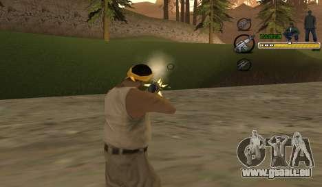 C-HUD TaweR Green pour GTA San Andreas deuxième écran