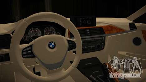 BMW 335i für GTA San Andreas rechten Ansicht