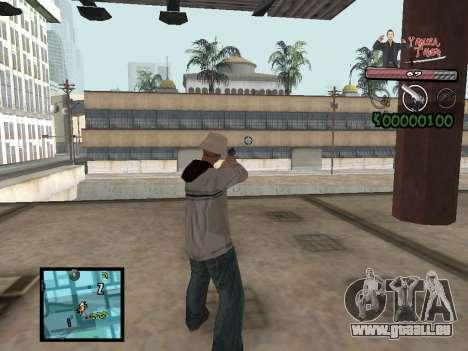C-Hud Yakuza II pour GTA San Andreas