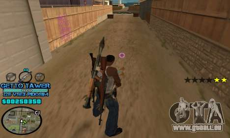 C-HUD Ghetto by Inovator für GTA San Andreas