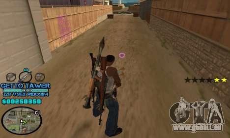 C-HUD Ghetto by Inovator pour GTA San Andreas