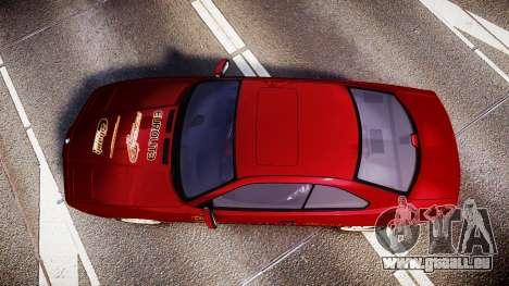 BMW E31 850CSi 1995 [EPM] Castrol Red pour GTA 4 est un droit
