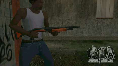 Orange Shotgun für GTA San Andreas dritten Screenshot