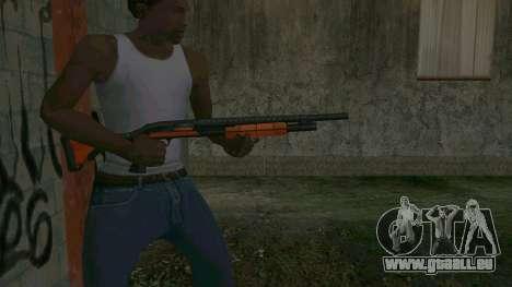 Orange Shotgun pour GTA San Andreas troisième écran