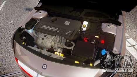 Mersedes-Benz A45 AMG PJs4 pour GTA 4 est une vue de l'intérieur