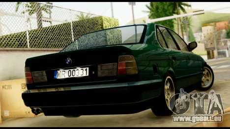 BMW 525 E34 für GTA San Andreas linke Ansicht