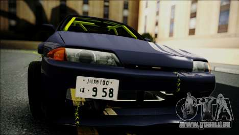 Nissan Skyline GT-S R32 pour GTA San Andreas vue de droite