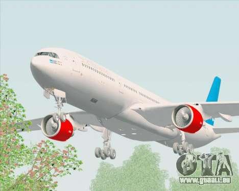 Airbus A330-300 Scandinavian Airlines pour GTA San Andreas vue intérieure