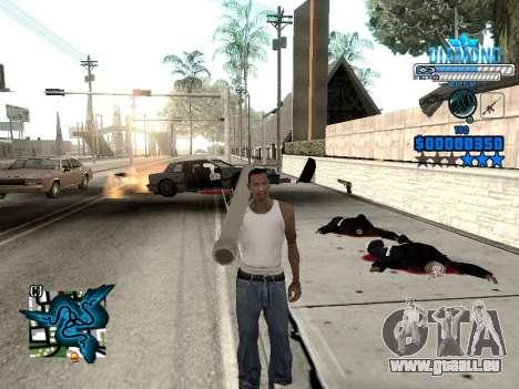 C-HUD Blek-Pro Diamond pour GTA San Andreas