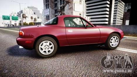 Mazda MX-5 Miata NA 1994 [EPM] für GTA 4 linke Ansicht