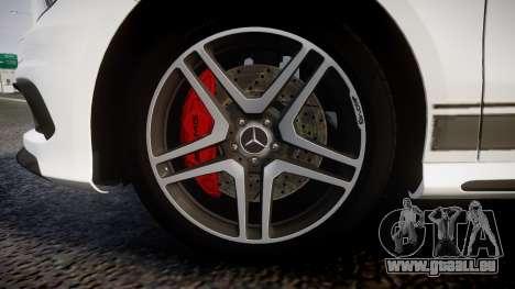 Mersedes-Benz A45 AMG PJs1 für GTA 4 Rückansicht