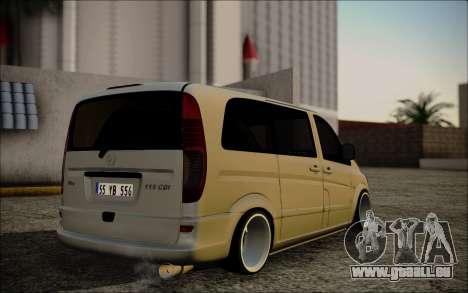 Mercedes-Benz Vito pour GTA San Andreas laissé vue