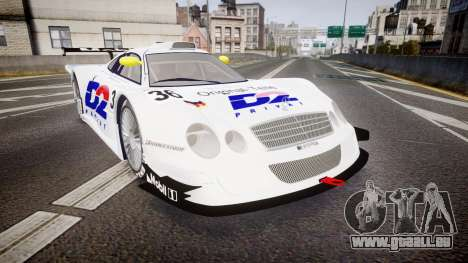 Mercedes-Benz CLK LM 1998 PJ36 für GTA 4