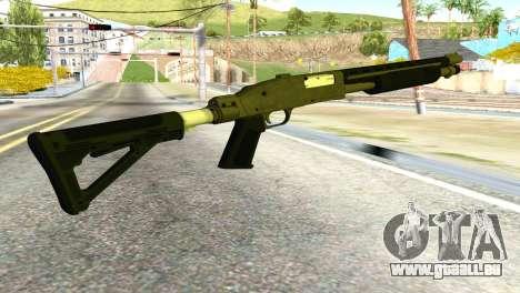 Shotgun from GTA 5 pour GTA San Andreas deuxième écran