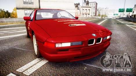 BMW E31 850CSi 1995 [EPM] Castrol Red pour GTA 4