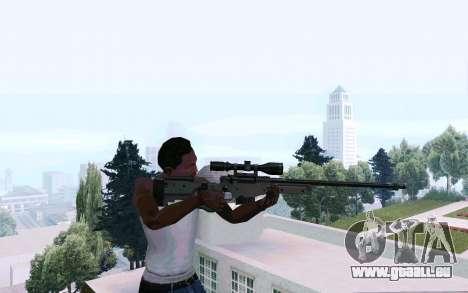 AWP L96 pour GTA San Andreas troisième écran
