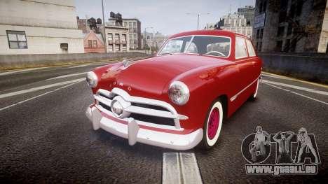 Ford Custom Tudor 1949 pour GTA 4