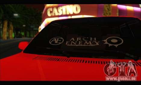 Tofas Dogan SLX Metalist (Arch Enemy) pour GTA San Andreas laissé vue