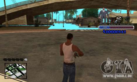 FBI C-HUD für GTA San Andreas