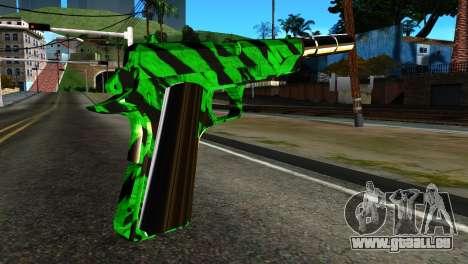 New Silenced Pistol pour GTA San Andreas deuxième écran