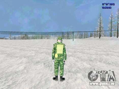 Die airborne Funker für GTA San Andreas zweiten Screenshot
